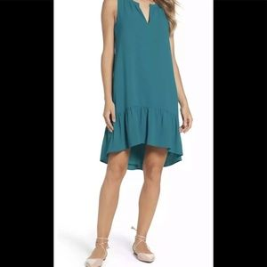 NWT CHARLES HENRY CHIC TIERED LAYERED  SHIFT DRESS